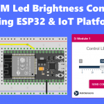 PWM LED Brightness Control ESP32 MQTT